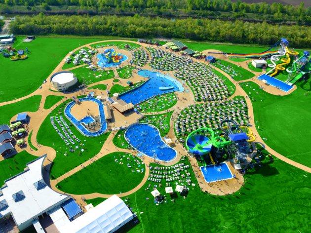 Akvapark Petroland prostire se na oko 8 hektara