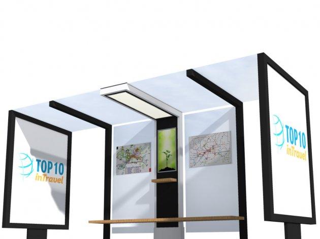 (NOMINACIJA ZA NAGRADU AUREA 2017) PetroSOLAR - Inteligentni mobilijar na solarnu energiju