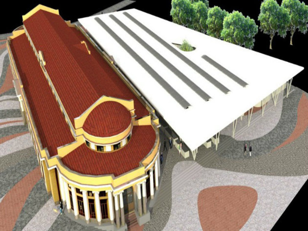 Projektovani izgled posle rekonstrukcije