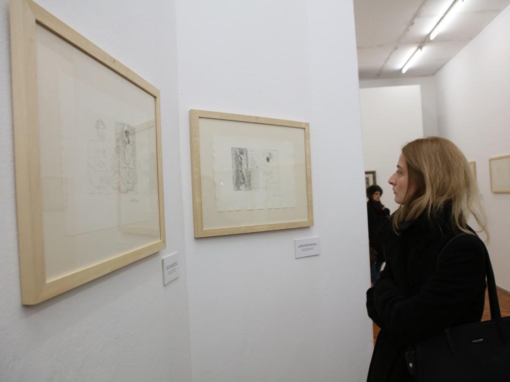 Izložba Pikasovih grafika u Kući legata produžena do 19. aprila