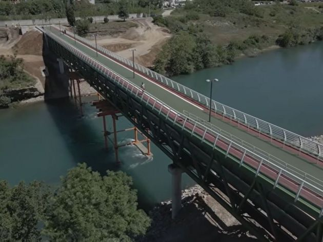 Podgorica dobila novi pješački most preko Morače - Spremna tenderska dokumentacija za gradnju postrojenja za prečišćavanje otpadnih voda