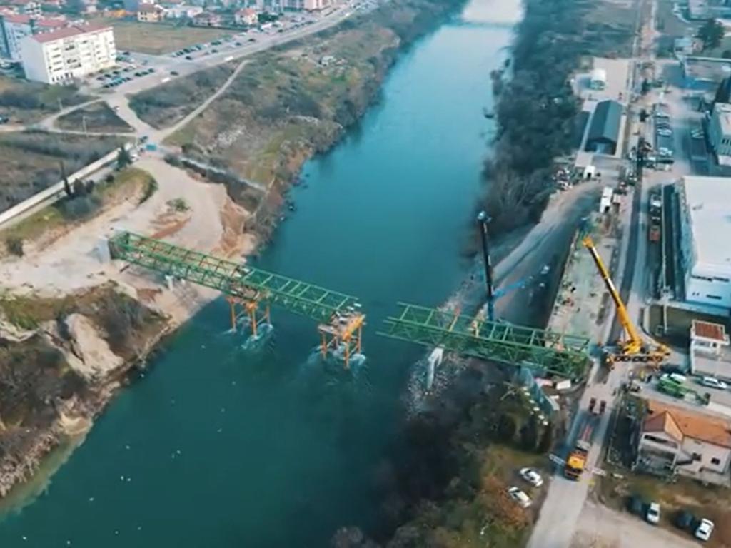 Podgorica uskoro dobija još jedan most preko Morače (VIDEO)