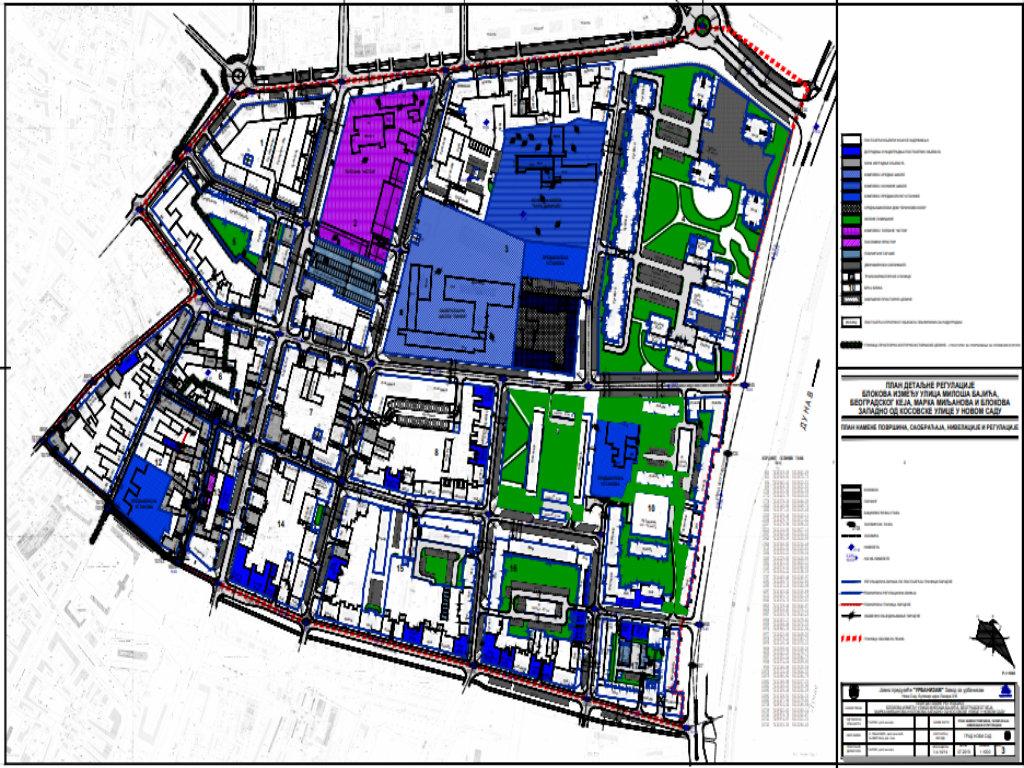 U planu nova gradnja na novosadskoj Podbari