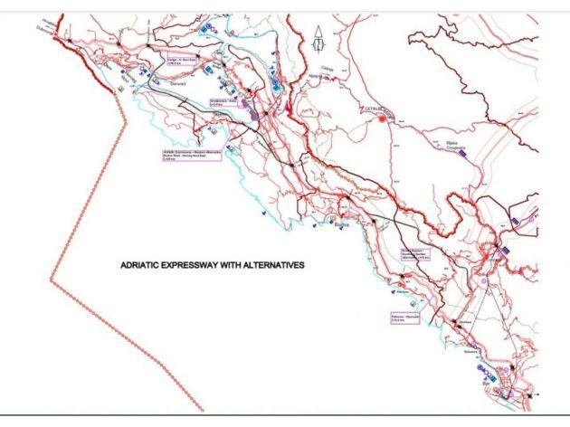 Nastavlja se realizacija projekta izgradnje brze saobraćajnice duž crnogorskog primorja - Neophodna sredstava za analizu alternativnih koridora obilaznice oko Budve