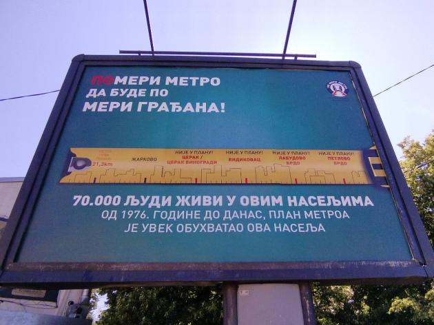 """Metro mora do KCS i Prokopa, duž Ibarske građani ne znaju da su izostavljeni iz plana - Šta predviđa inicijativa Udruženja """"Po meri metro"""" za liniju 1"""