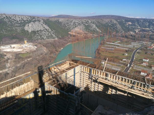 Napreduju radovi na gradilištu poddionice Počitelj-Zvirovići - U maju potpisivanje ugovora za izgradnju ceste Tunel Kvanj-Buna (FOTO)