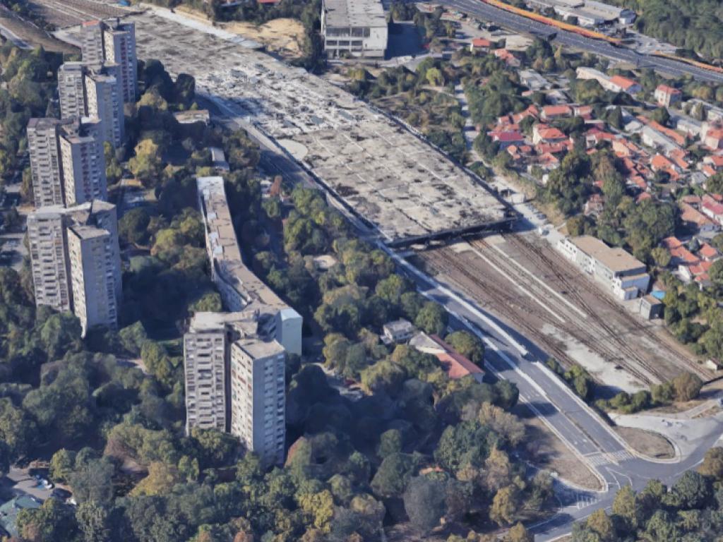Između Prokopa i Hajd parka gradiće se 6.659 m2 stambenog prostora i saobraćajnica Transverzala do Bulevara oslobođenja