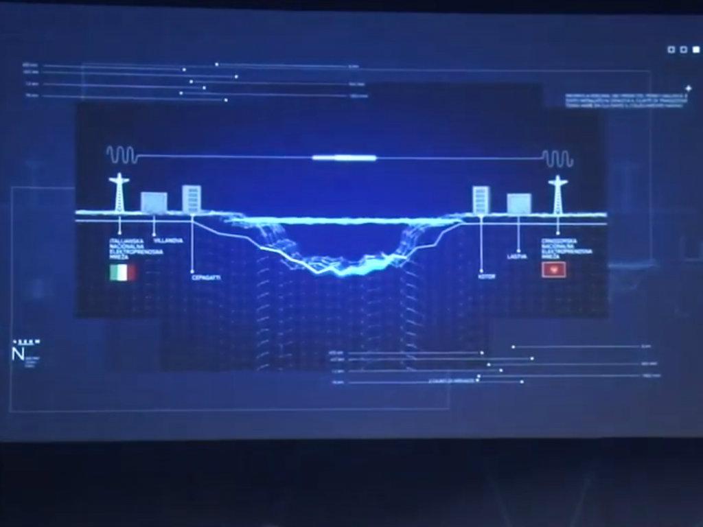 Pušten u rad podmorski elektroenergetski kabal između Italije i Crne Gore