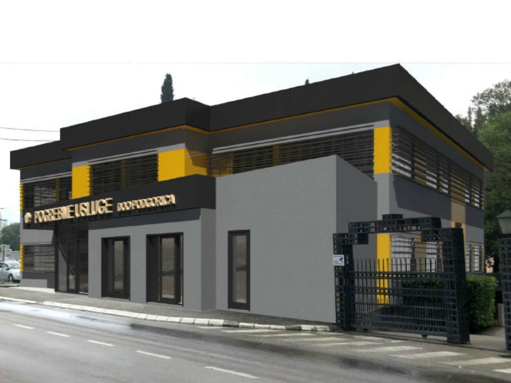Sjedište preduzeća Pogrebne usluge iz Podgorice gradiće firma Eurozoks