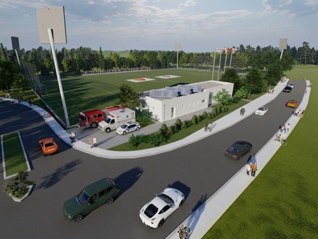 Počela izgradnja svlačionica i rekonstrukcija pomoćnog stadiona na Cetinju (VIDEO)