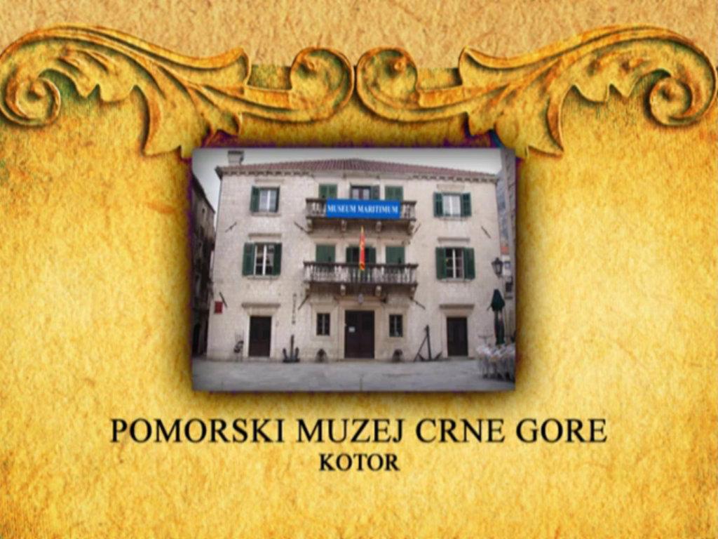 Virtuelna tura kroz Pomorski muzej Crne Gore