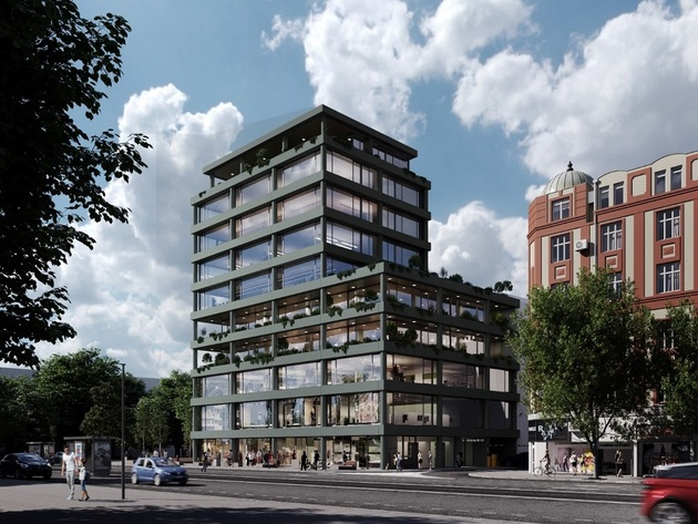 Nova poslovna zgrada gradiće se kod Vukovog spomenika