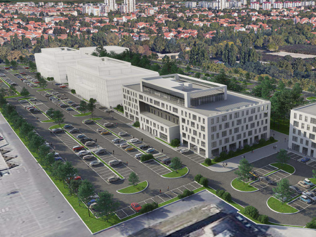 """Afi West Zmaj gradiće veliki poslovni kompleks u Zemunu, na mestu fabrike - Četiri zgrade površine gotovo 70.000 m2 po modelu prostora """"shell and core"""""""