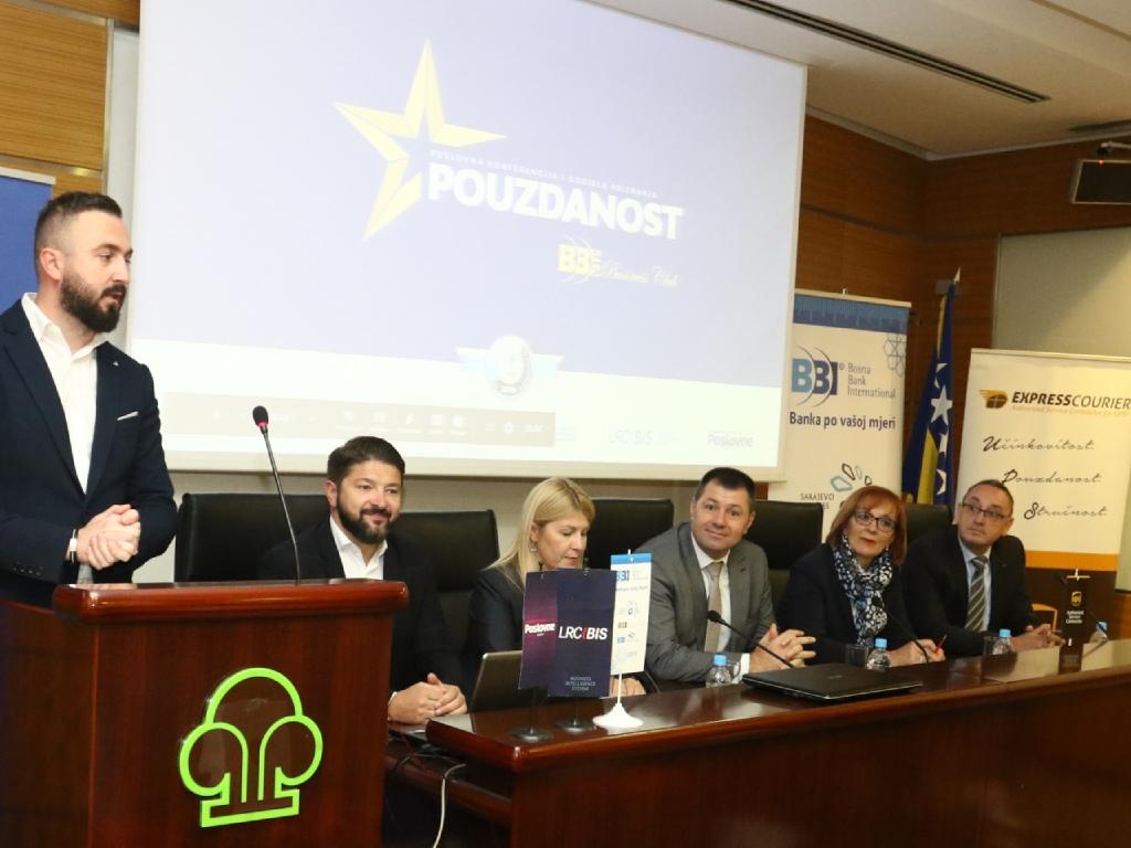 Bonitetno pouzdane kompanije u BiH ostvarile 17,4 mlrd KM prihoda