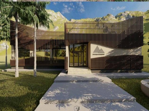 Izgled budućeg Prirodnjačkog centra