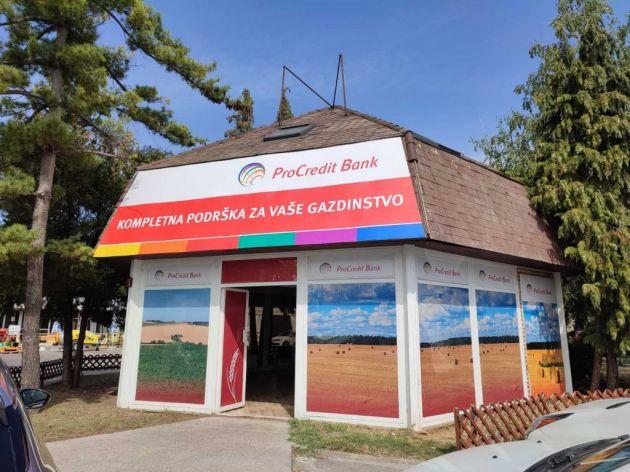 Sajamska ponuda važiće za sve klijente koji kontaktiraju ProCredit banku tokom Sajma poljoprivrede