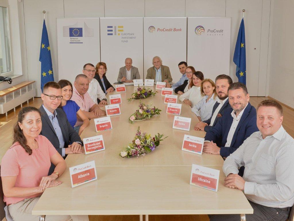 EIF i ProCredit grupa osigurali još 800 mil EUR za mala i srednja preduzeća u jedanaest zemalja