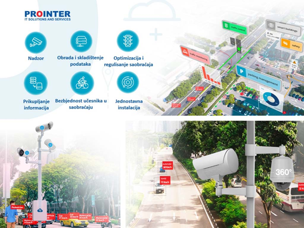 Banjaluka-grad budućnosti - Kako je Prointer osmislio regulisanje saobraćaja na raskrsnici pomoću pametnog semafora