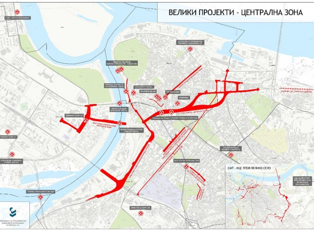 Construction of bridges, squares, tunnels, garages – eKapija investigates which projects Belgrade is looking at