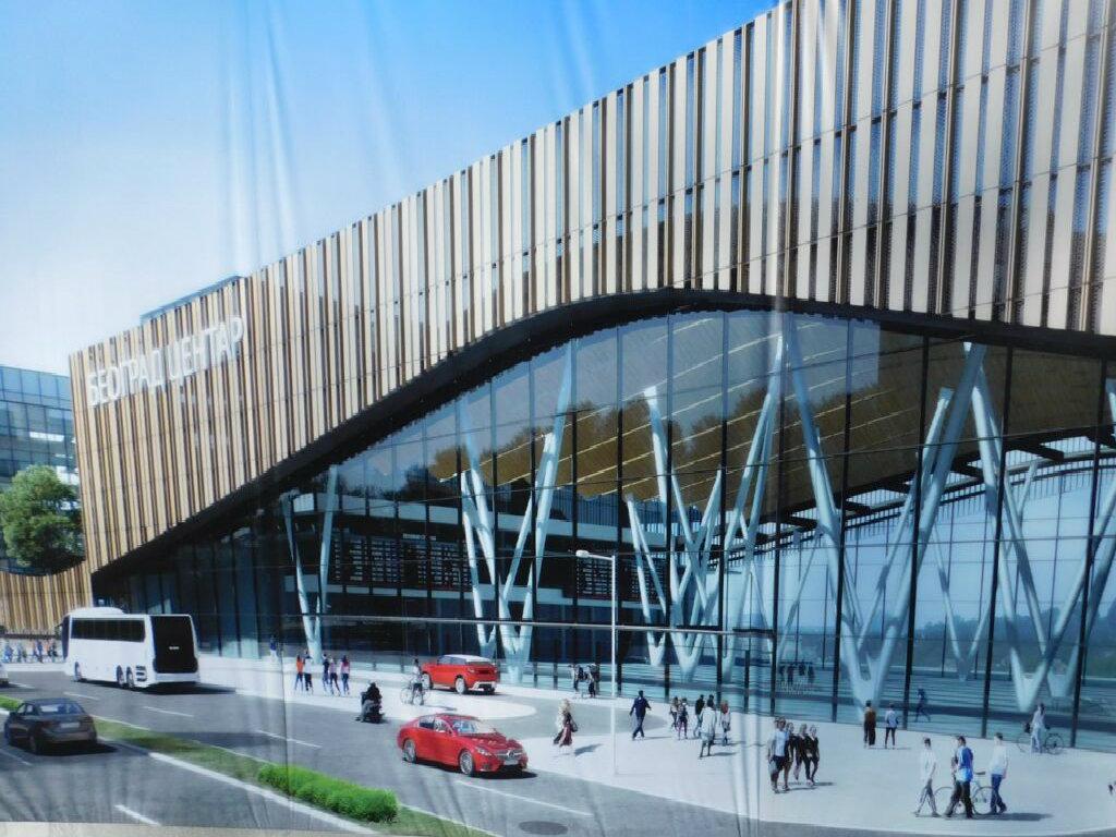 Predstavljen budući izgled Prokopa - Završetak gradnje železničke stanice Beograd Centar za tri godine, najavljuje ministar (FOTO)