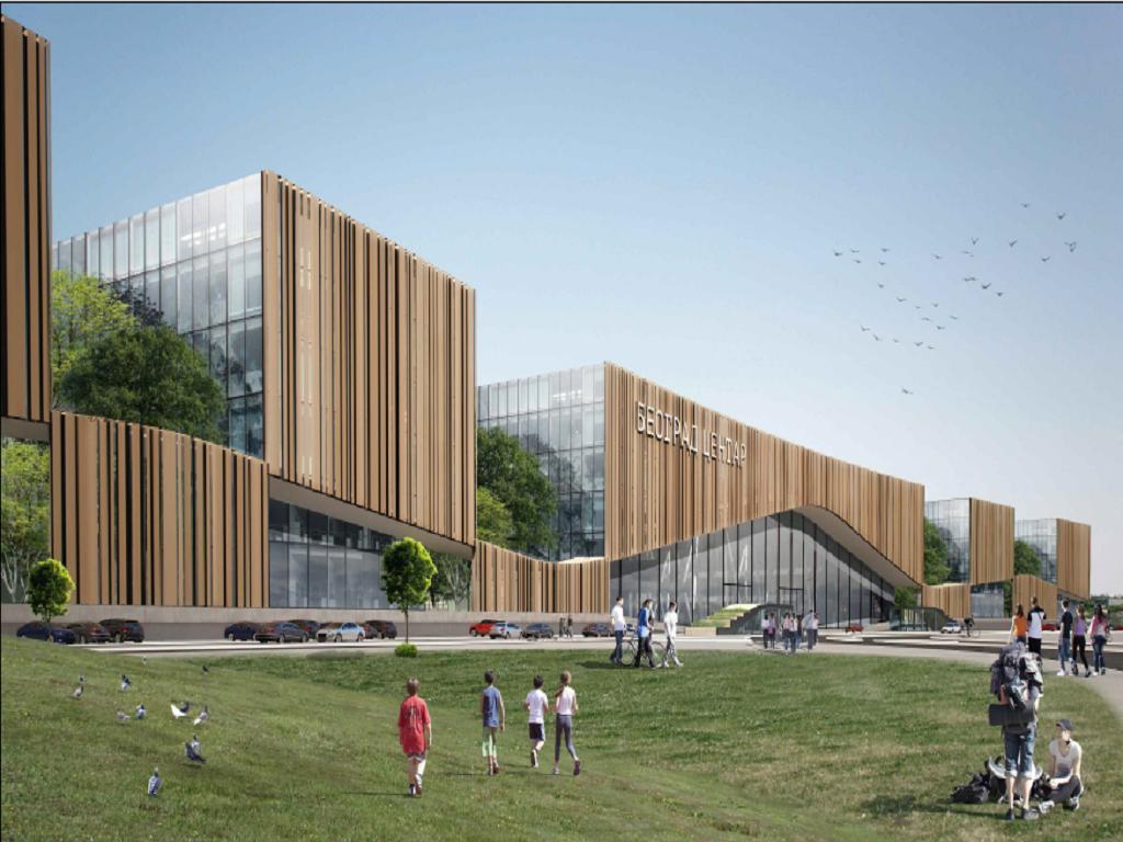 Predstavljen detaljan projekat za Prokop - Gradiće se stanična zgrada sa trgom, poslovni park i javna garaža (FOTO)