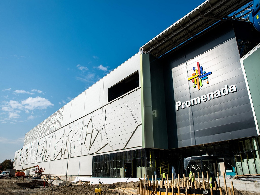 Einkaufszentrum Promenada Novi Sad wird am 15. November eröffnet