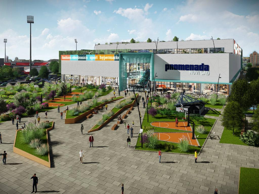 First customers at Promenada Novi Sad shopping center by December 5