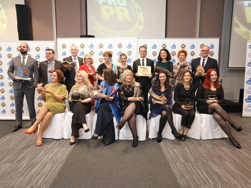 Milica Stefanović, Nataša Đurđević, Ivana Đurić i Branka Conić dobitnice PRO PR Awards iz Srbije