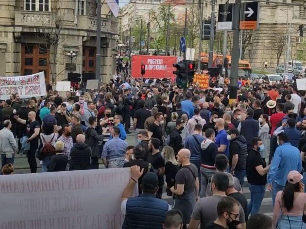 Novi protest Udruženja ivent industrije najavljen za 19. april
