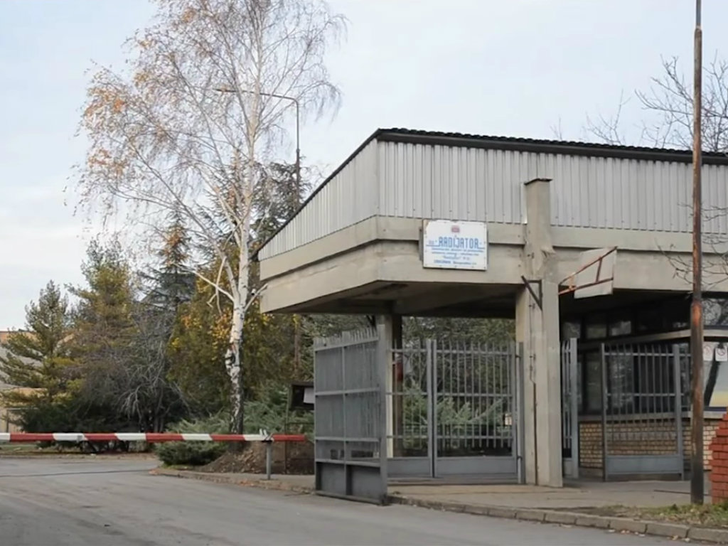 Radiator factory in Zrenjanin up for sale