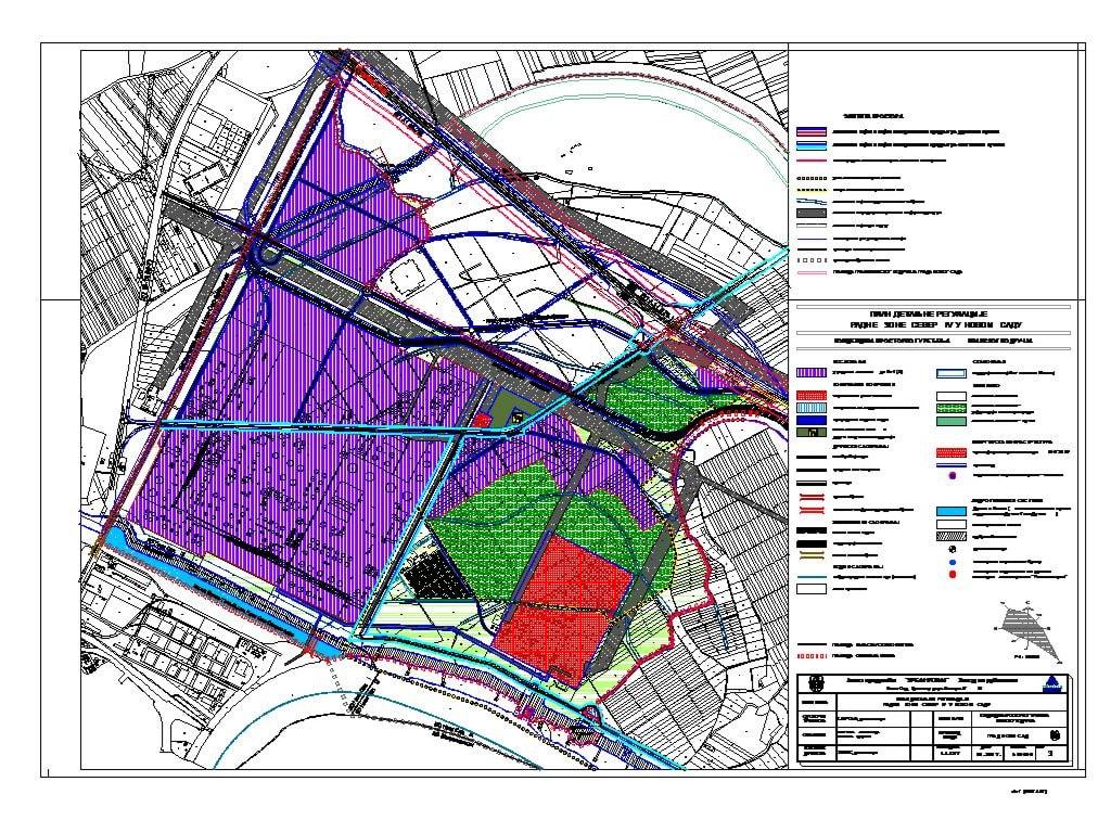 Novi Sad uređuje prostor Radne zone Sever IV - Planirana nova TE-TO, nema proširenja naselja Šangaj...