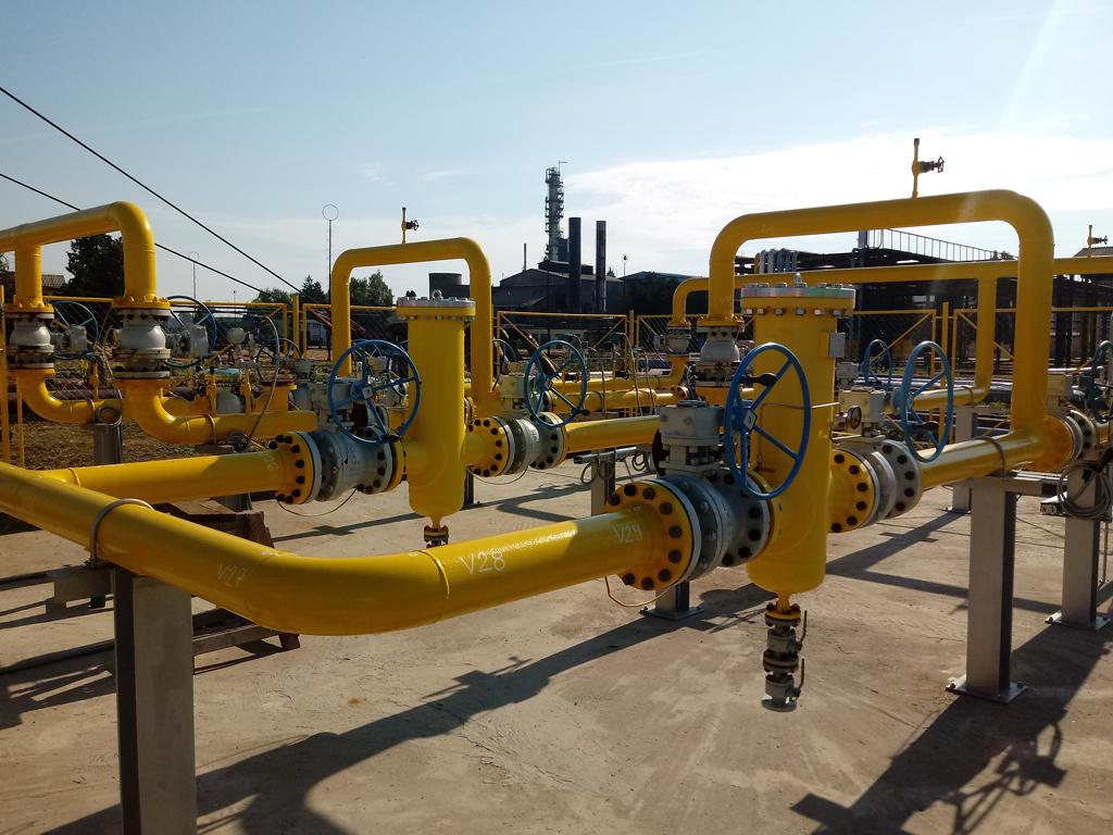 Novoizgrađeni cjevovod u Rafineriji nafte Brod spreman za distribuciju gasa