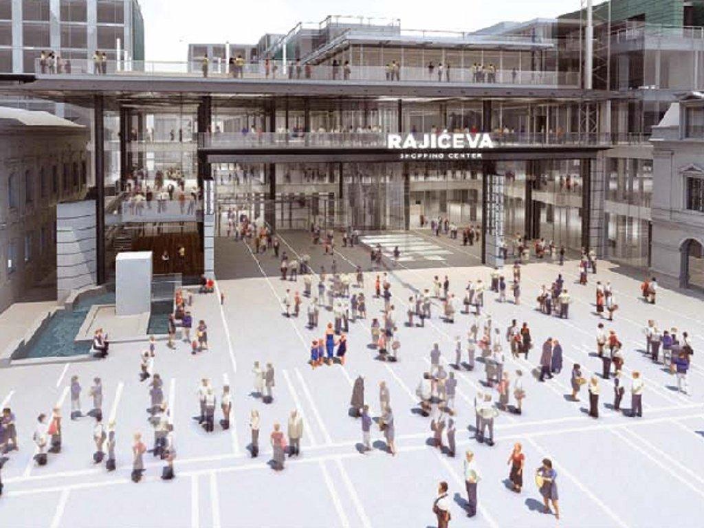 """Šoping centar i hotel """"Rajićeva"""" otvaraju vrata do kraja 2017 - Izraelci ulažu 80 mil EUR, već zakupljeno 40% objekata u modernom kompleksu u centru Beograda"""