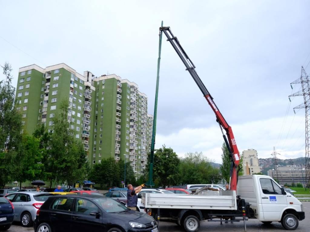 U toku modernizacija rasvjete na parkinzima u sarajevskoj općini Novi Grad - Radovi vrijedni 335.000 KM
