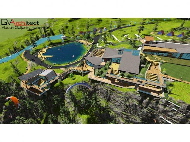 Idejno rješenje TRC Ravna planina