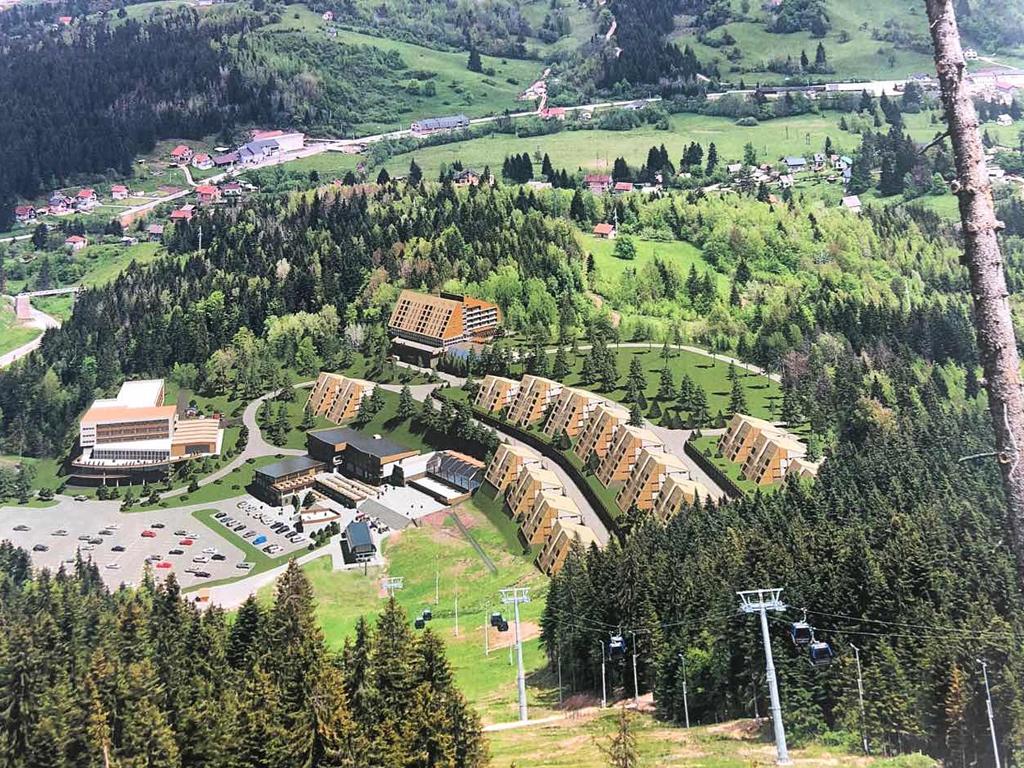 Počinje izgradnja hotelsko-apartmanskog naselja na Ravnoj planini - Vrijednost projekta oko 50 mil KM (VIDEO)