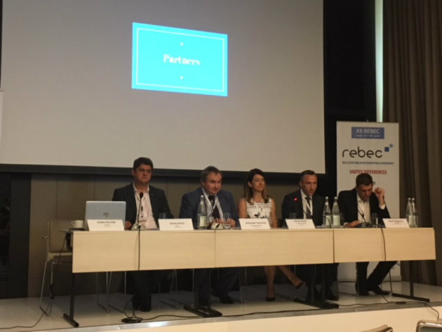 Participants in the panel at REBEC 2019 conference