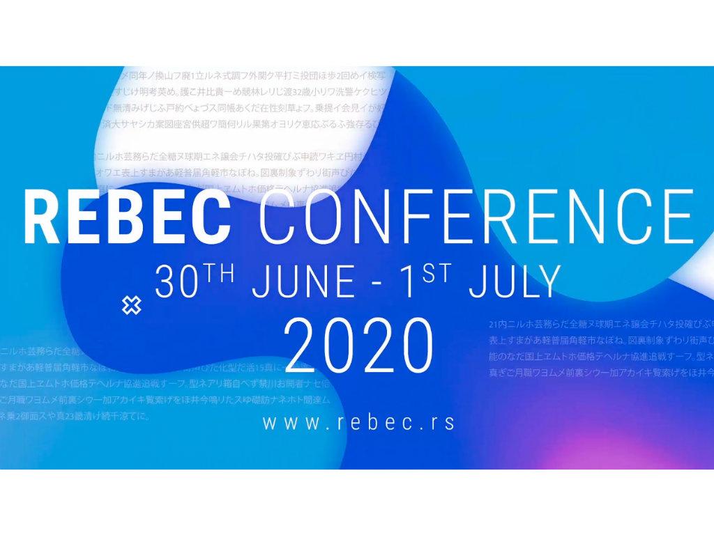 REBEC 2020 predstaviće 22 panela o aktuelnim temama iz oblasti nekretnina - Virtuelni samit od utorka