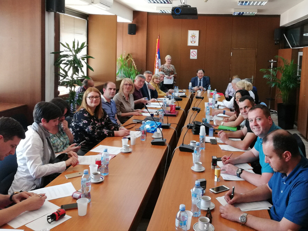 Sa sastanka Udruženja reciklera