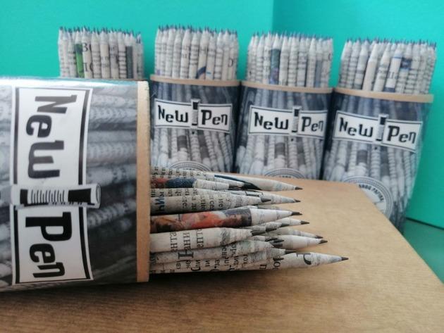 New Pen u Smederevskoj Palanci proizvodi olovke od recikliranog papira - U planu izvoz u Nemačku, Austriju i Holandiju