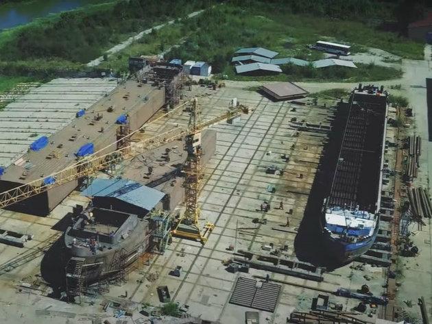 U zrenjaninskom brodogradilištu izrađuje se najveći rečni tanker na svetu (VIDEO)