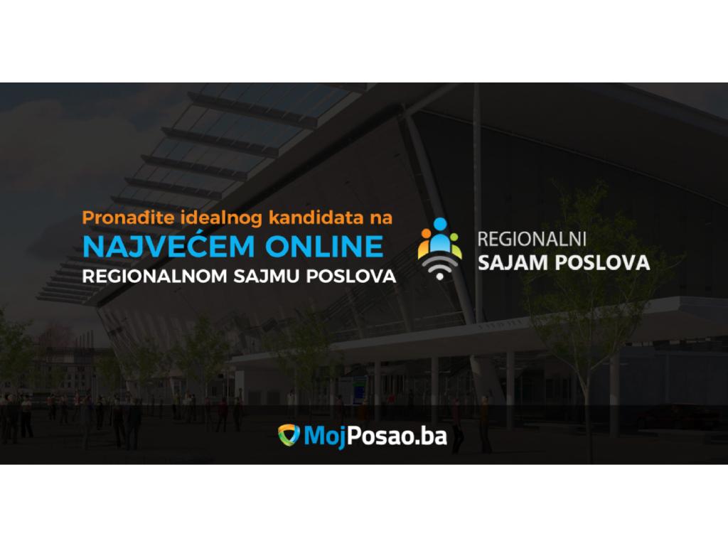 Regionalni sajam poslova od 7. do 14. oktobra