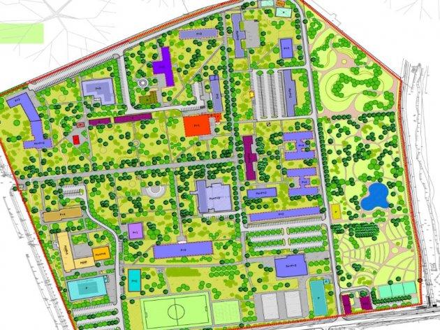 Regulacionog plana spomenika parkovske arhitekture Univerzitetski grad