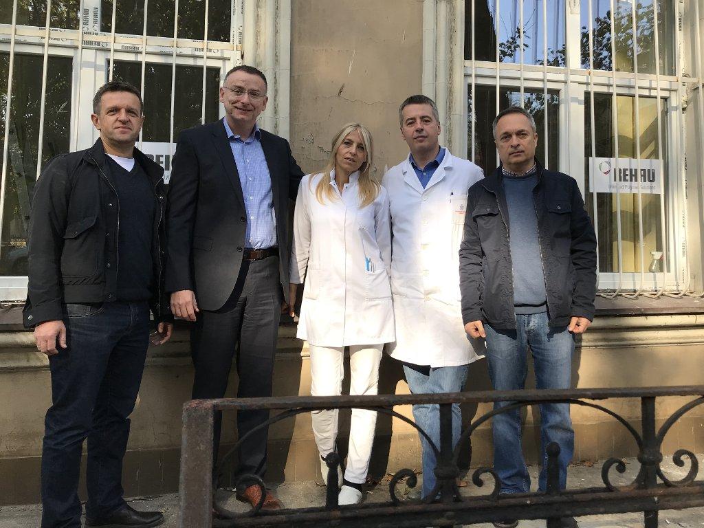 REHAU donirao prozore beogradskom Urgentnom centru