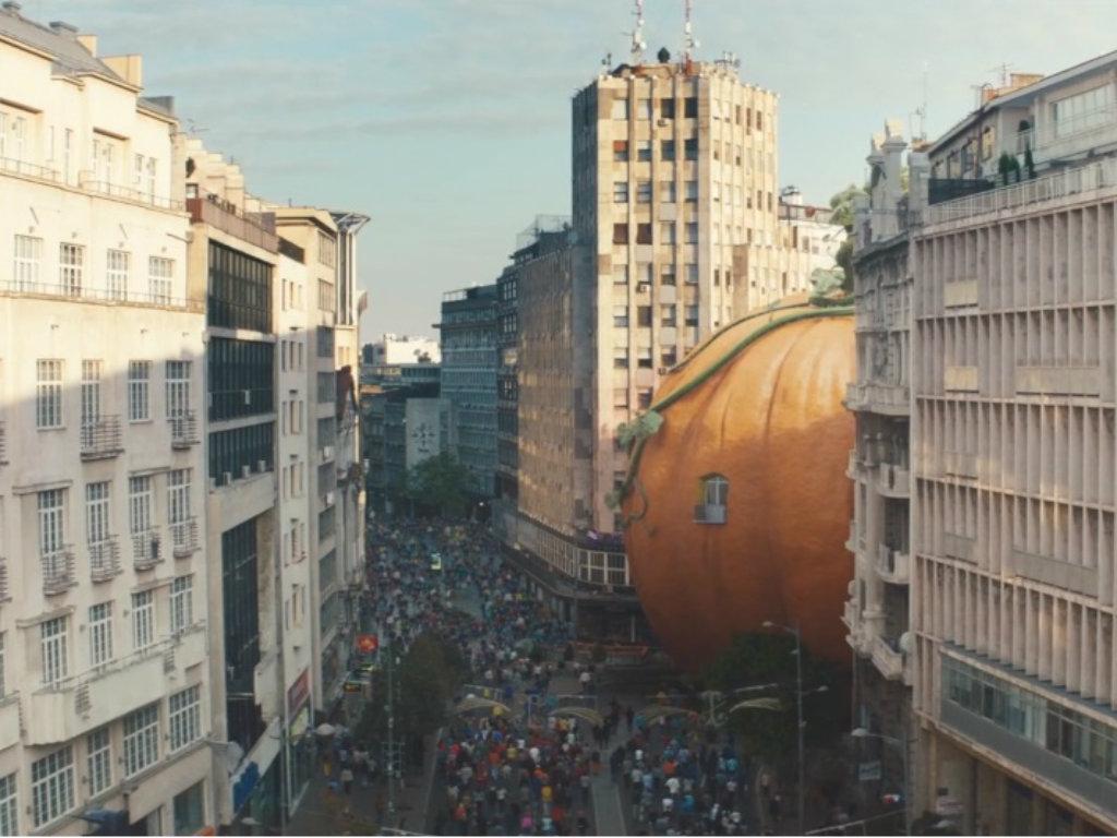 Zeleno lice Beograda oduševilo internet (VIDEO)