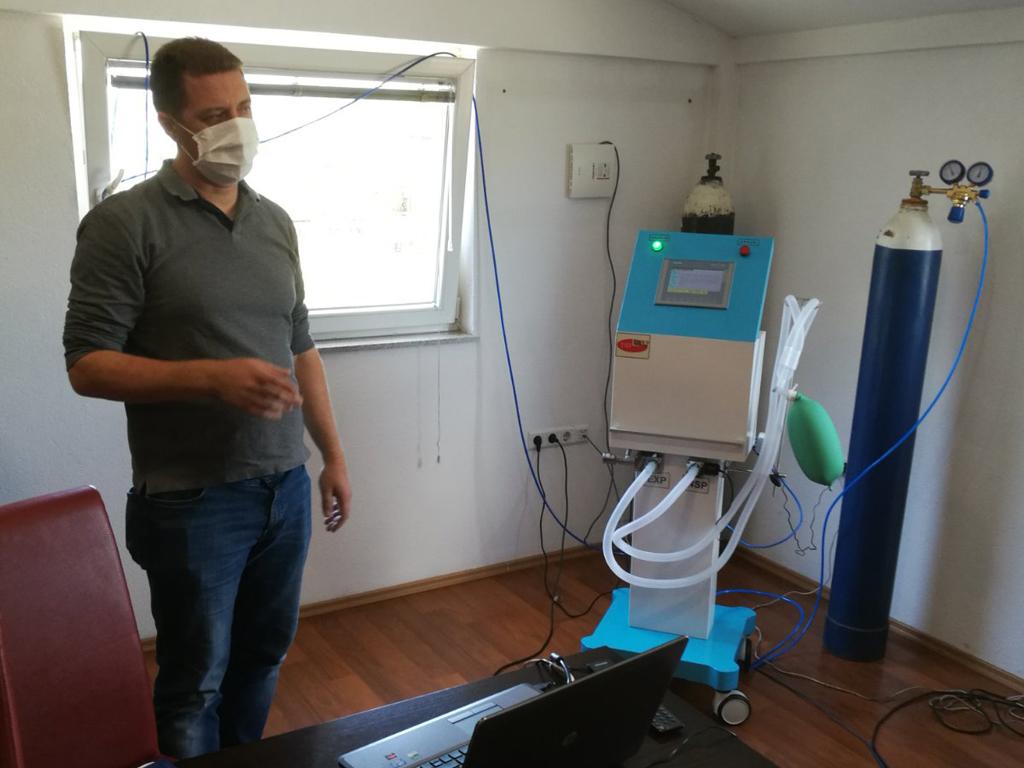 Tim stručnjaka iz UKC-a Tuzla učestvovaće u razvoju prvog domaćeg respiratora