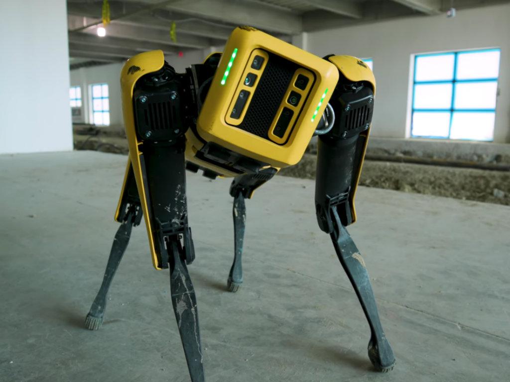 Spot-Robot namenjen građevinskoj industriji (VIDEO)