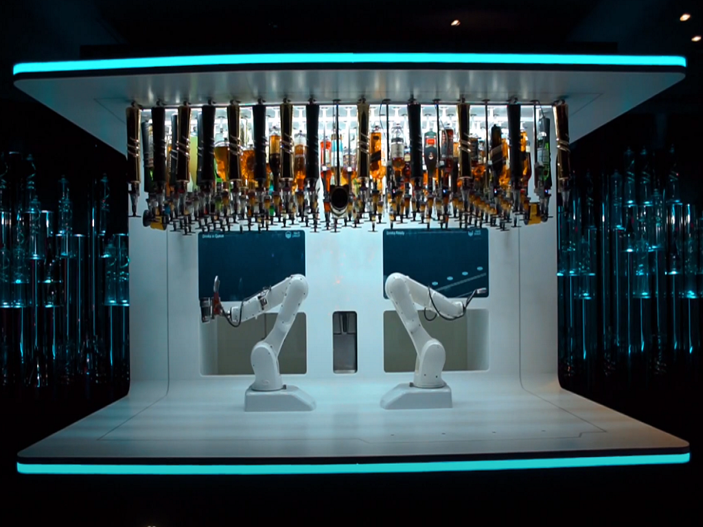 """Contactless Service at Cafes – Makr Shakr Recognized Worldwide for its """"Robotic Bars"""""""