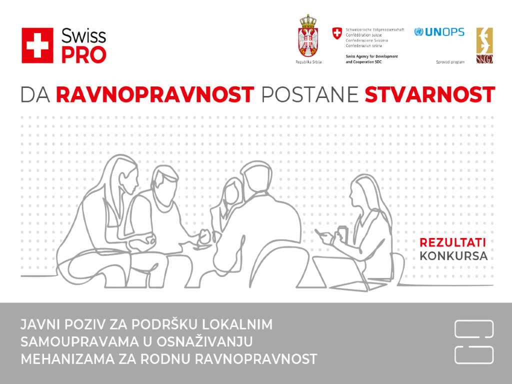 Švajcarska podržava jačanje rodne ravnopravnosti u Srbiji