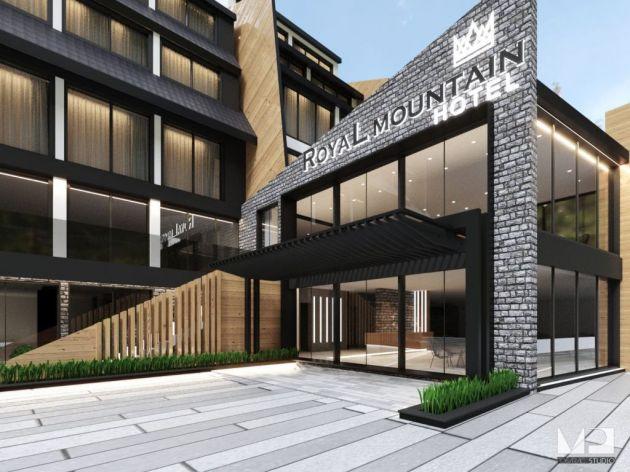 In diesem Sommer wird ein Viersternehotel im Zentrum von Divčibare eröffnet - Royal Mountain hat 40 Zimmer, 2 Apartmants, Spa, Türkisches Bad, Zirbensauna ...
